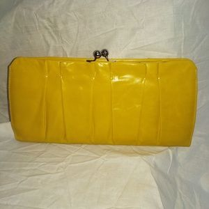 New Hobo leather clutch.